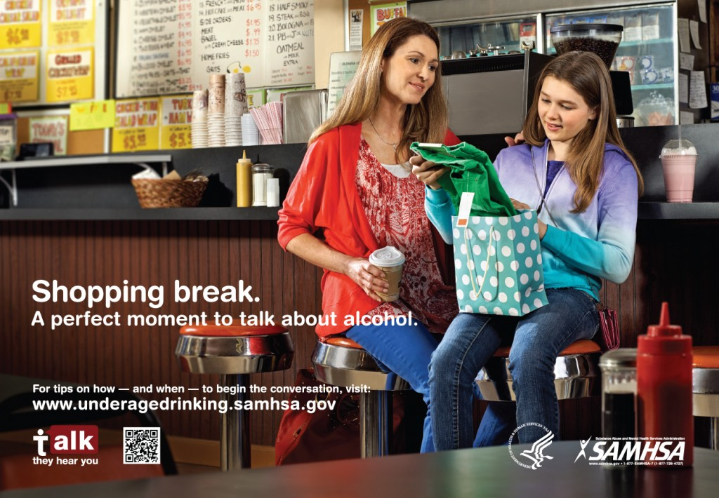 SAMHSA - Underage Drinking - Shopping Ad