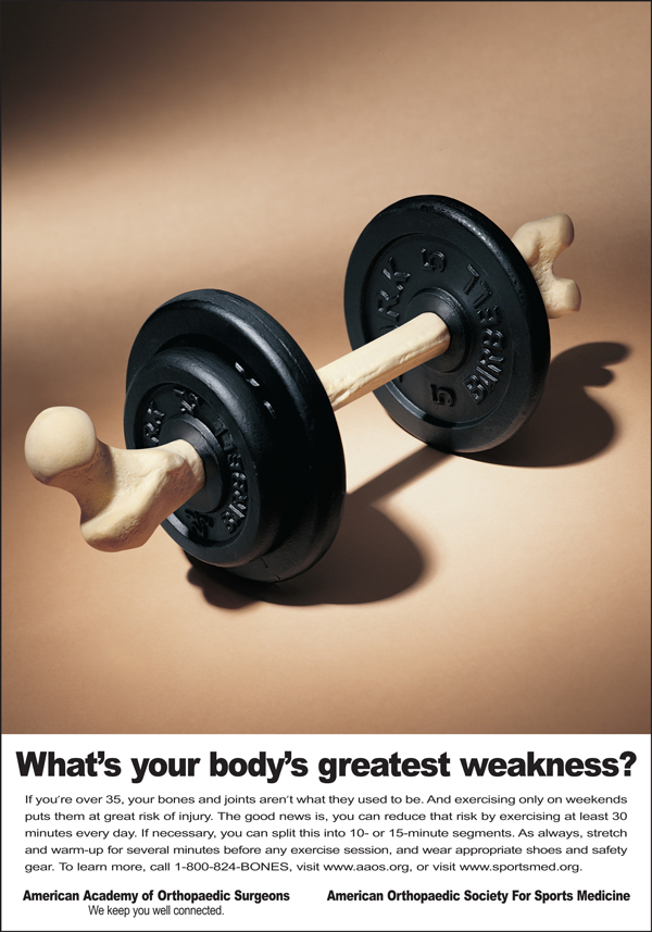 AAOS - Bone Health - Barbell Ad