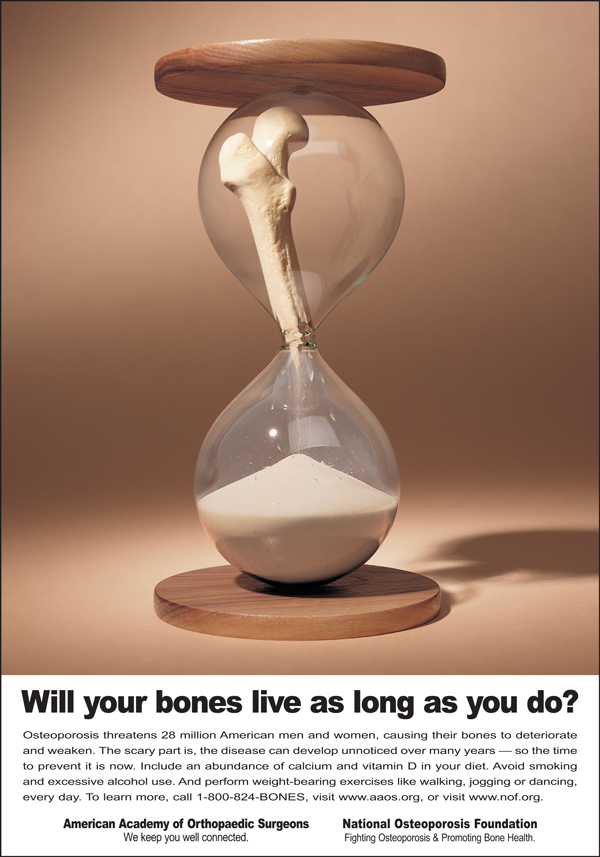 AAOS - Bone Health - Hourglass Ad