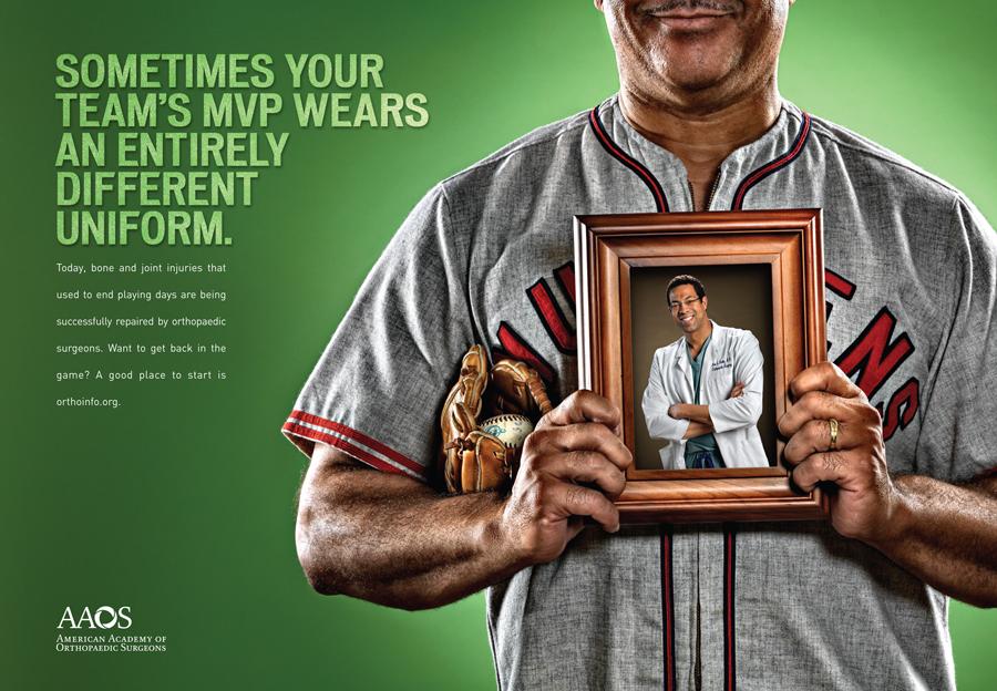 AAOS - Heros - Baseball Ad