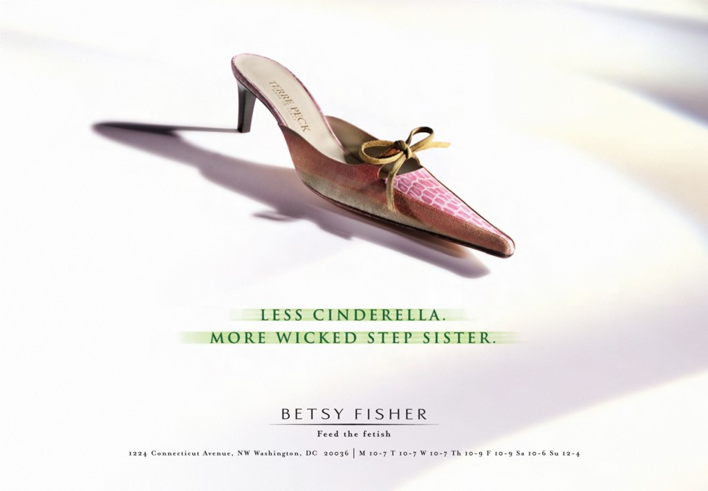 Betsy Fisher - Feed the Fetish - Cinderella Ad