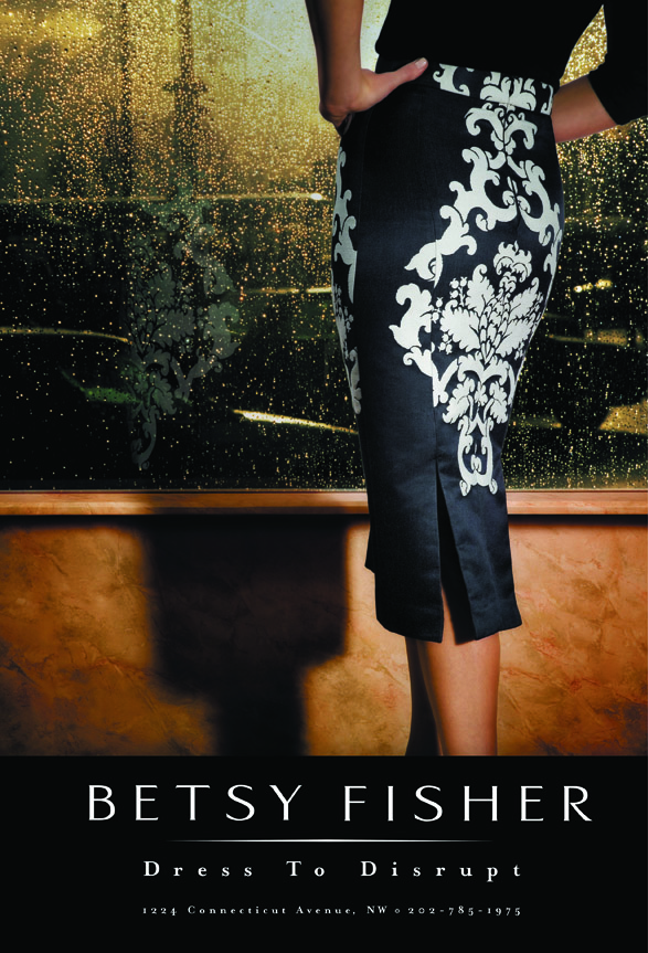 Betsy Fisher Branding - Dress To Disrupt Ad