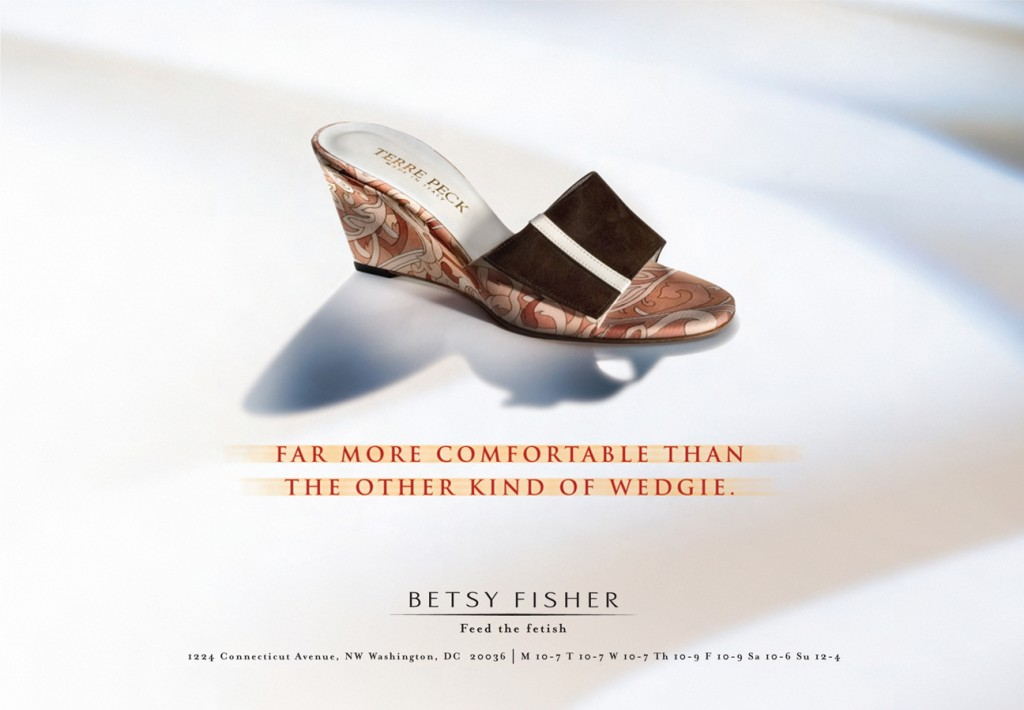 Betsy Fisher - Feed the Fetish - Comfortable Ad