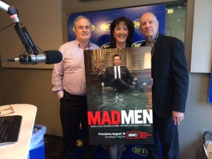 Chuck Husak at WTOP Mad Men Discussion