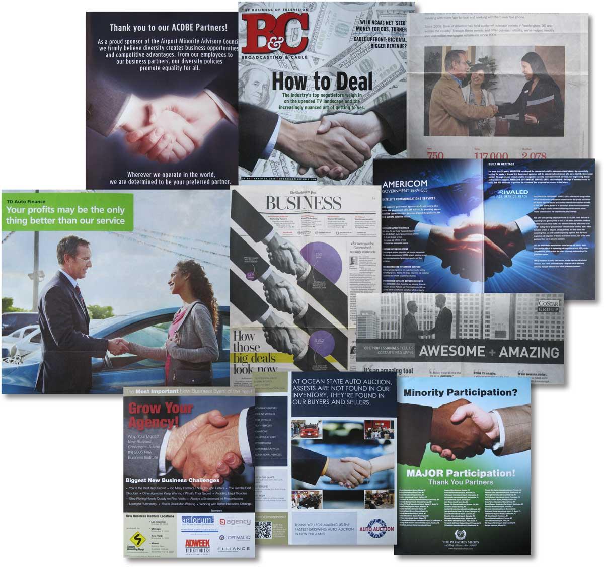 Handshake Ads