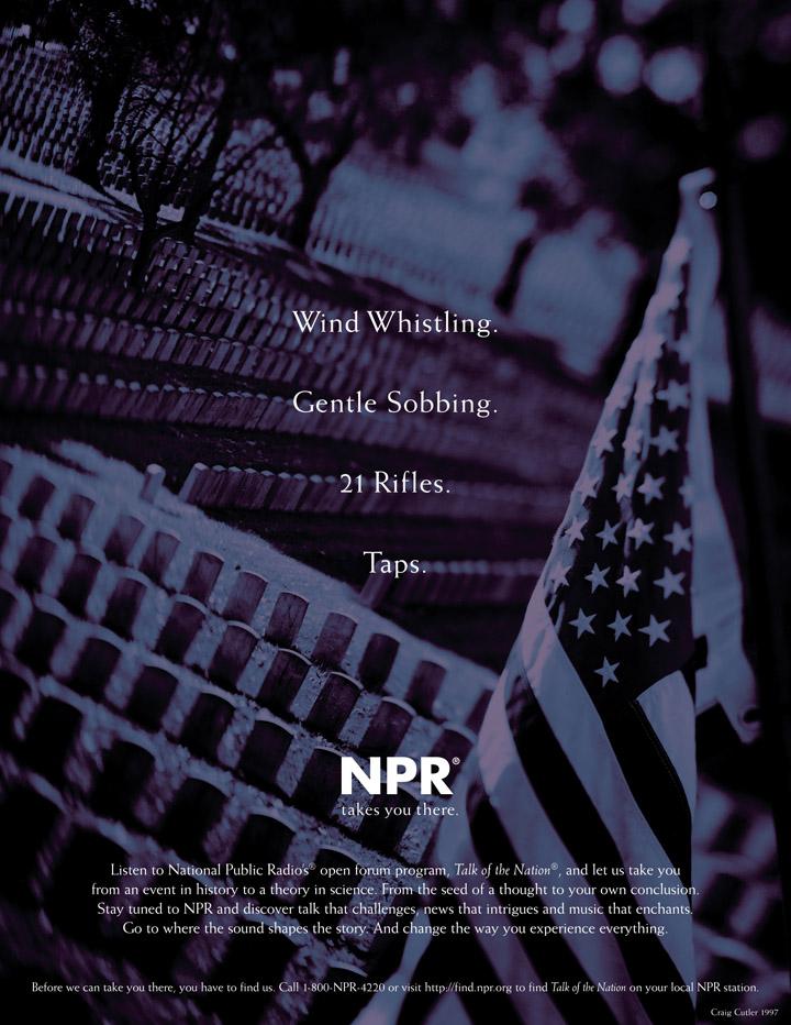 NPR Branding - Taps Ad