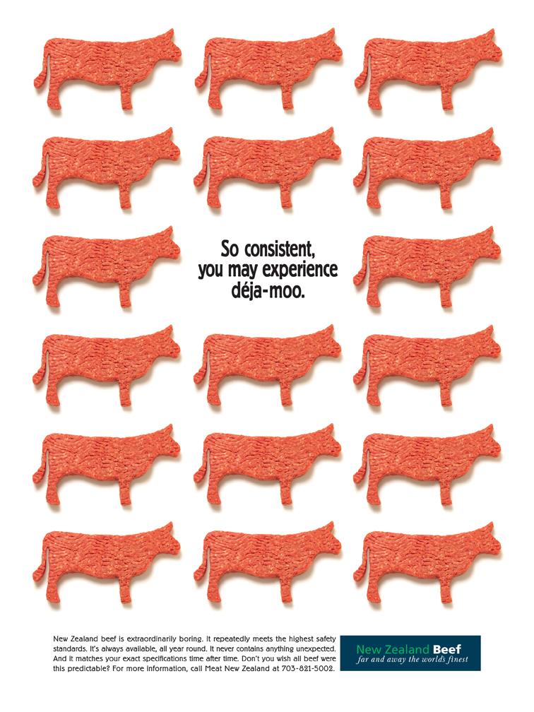 New Zealand Lamb - Deja Moo Ad