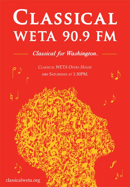 WETA Classical - Branding - Print Ad