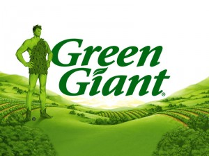 Green Giant Logo & Mascot